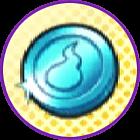 水色コイン (USA)